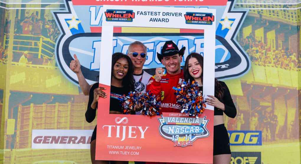 NWES and Tijey introduce new Fastest Driver Award