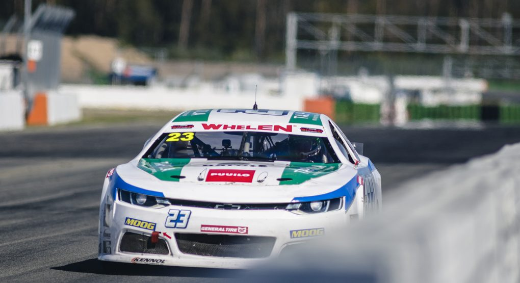 Thrilling battles in all Euro NASCAR Trophies at Circuit Zolder