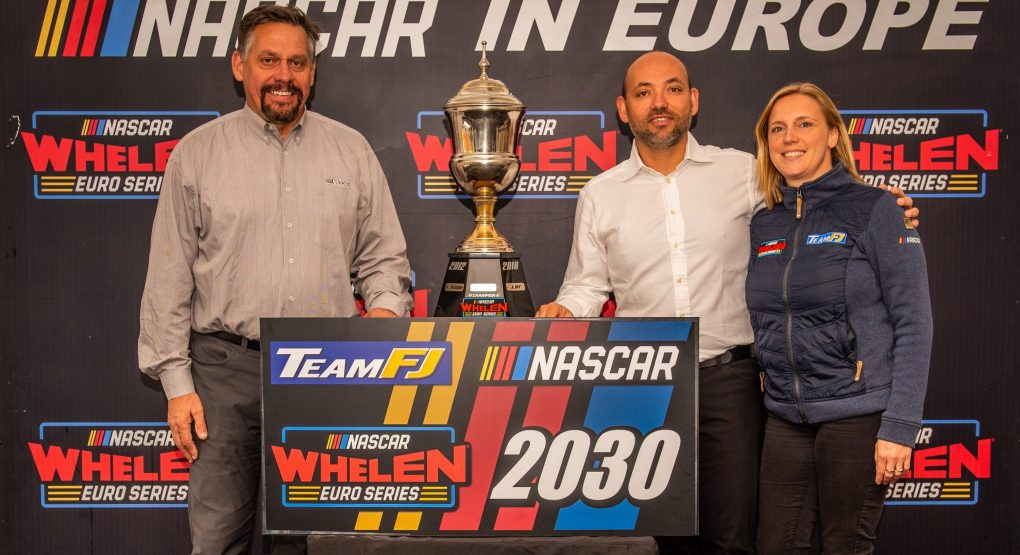 Ten-year extension for NASCAR in Europe!