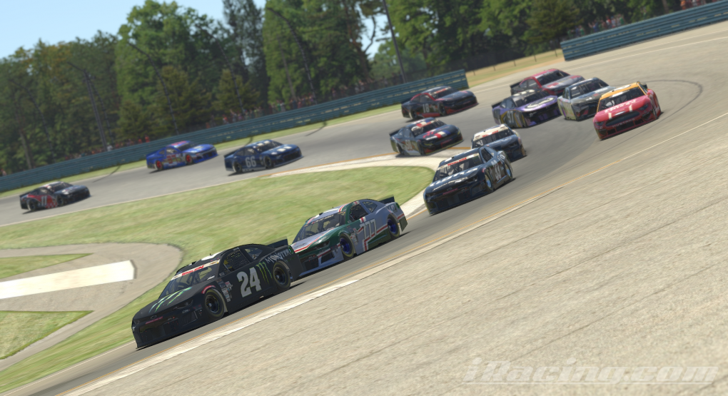 Day dominates, fans praise exciting NWES 110 at the Glen virtual race