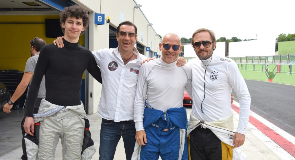 Feed Vict Racing completes two-day test at Vallelunga, celebrates special day for Patrick Lemarie