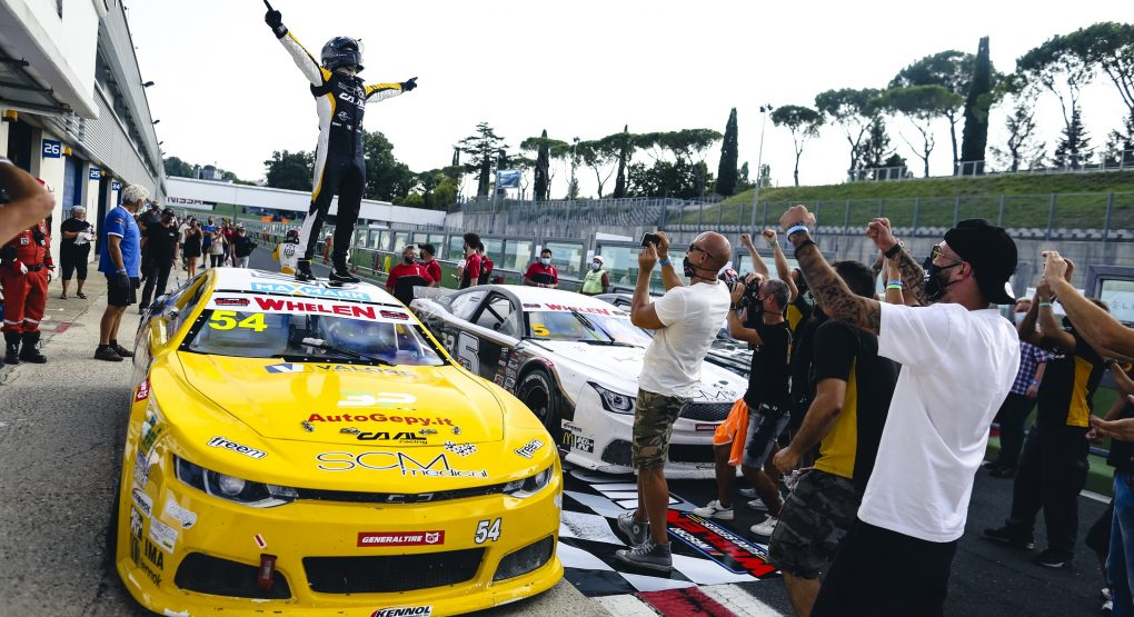 Gianmarco Ercoli returns to Victory Lane at his home track