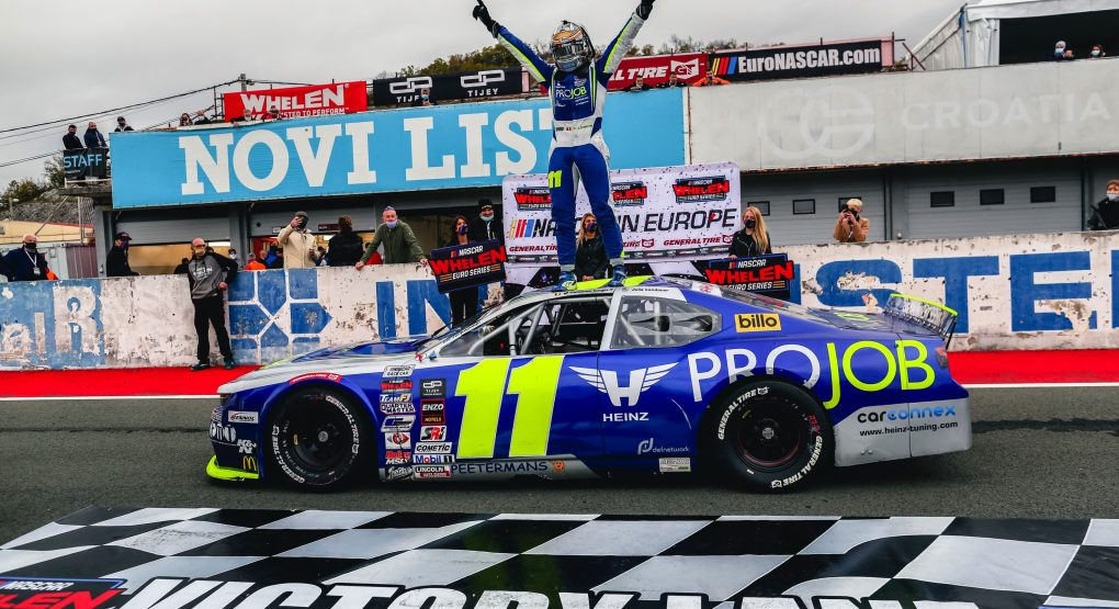 Stienes Longin prevails in three-way battle for the win at Automotodrom Grobnik