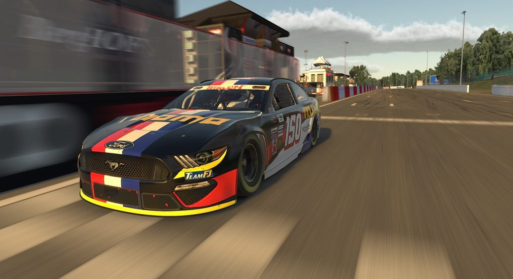 Tobias Dauenhauer wins race and title at virtual Circuit Zolder